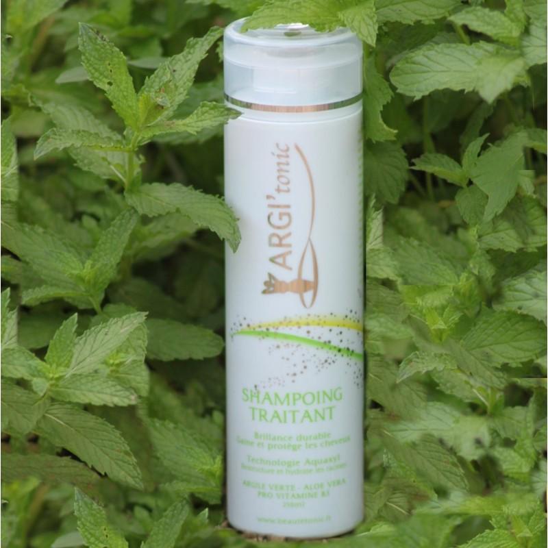 Shampoing Argile verte, Aloé-Véra, huile essentielle menthe